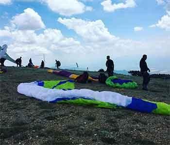 Uçmakdere Ganos tepesi 650 m Yamaç Paraşütü Tekirdağ | Flymarmara